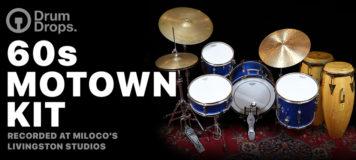 Virtual Instrument - DrumDrops 60s Motown Kit