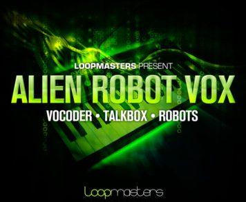Sample Packs - Loopmasters Alien Robot Vox