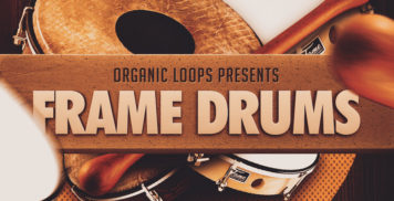 Sample Packs - Organic Loops Frame Drums