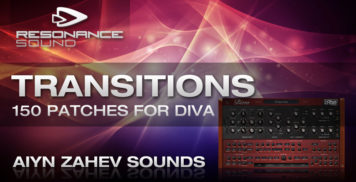 Soft Synth Presets - Resonance Sound AZS Transitions - DIVA