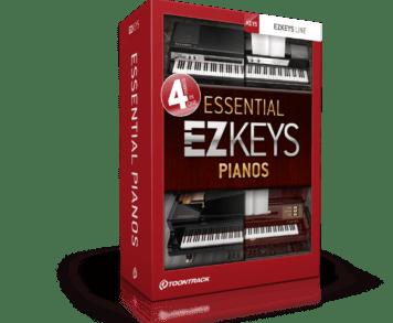 Virtual Instrument - Toontrack EZkeys Essential Pianos
