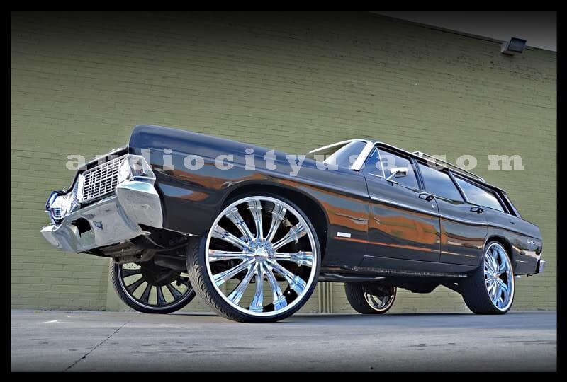 22x85 Borghini Wheels B15 Chrome Rims BOR007 2