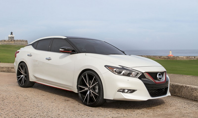 2012 Nissan Maxima Black Rims