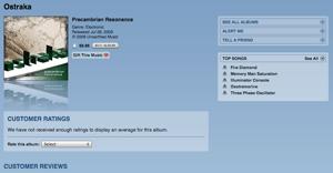 PCR on iTunes