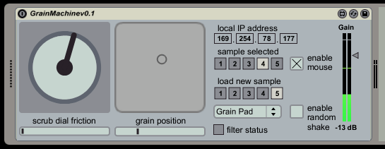 The Grain Machine v0.1