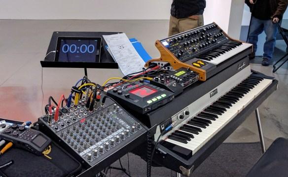John Keston's Setup for the Common Time Event