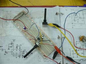 AHL on breadboard