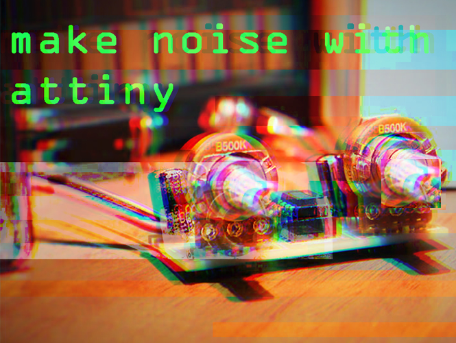 Make noise with ATtiny