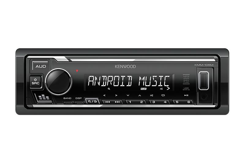 KENWOOD USB AUX RADIO KMM105M 6