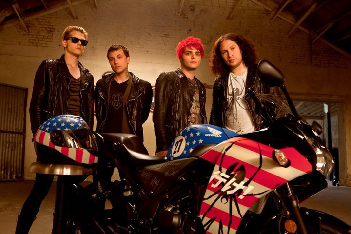 My Chemical Romance Singer Gerard Way Explains Red Hair