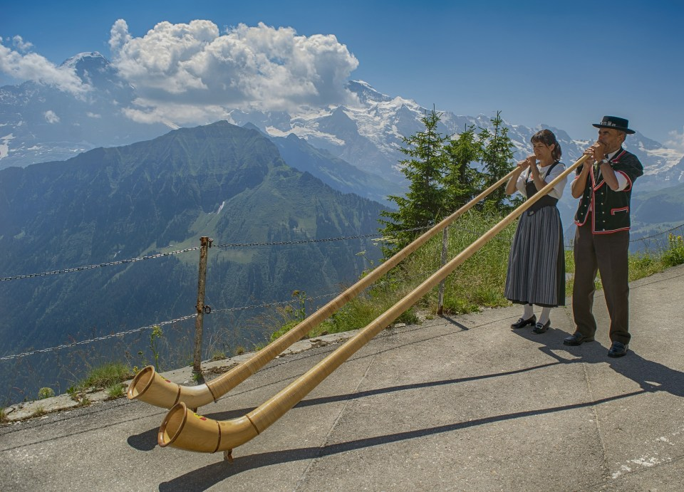 Instrumentals - not just for Germanic peoples on the Matterhorn!