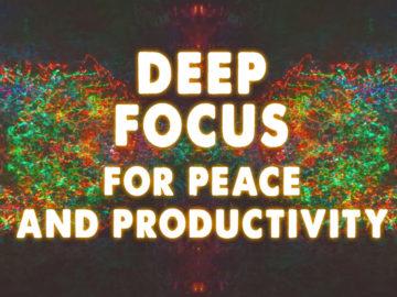 AudioSoul Healing - Deep Focus - Meditation for Peace & Productivity