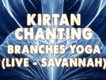 Kirtan Chanting - July 27th, 2016 - Branches Yoga - Savannah, GA