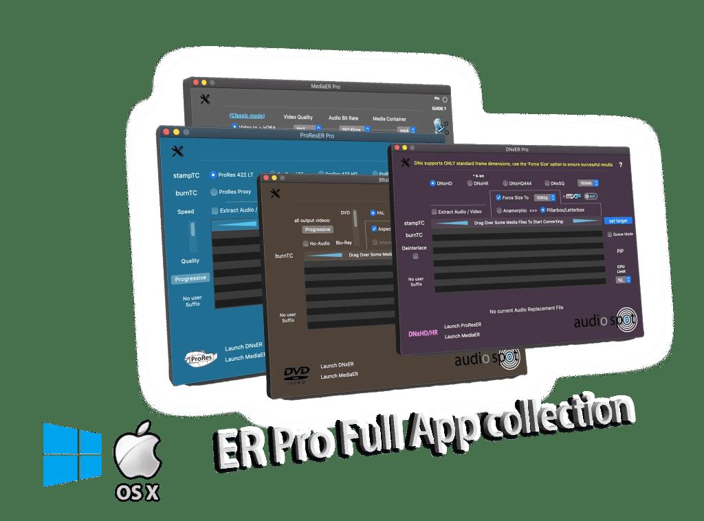 ER Media ToolKit Pro Bundle, the best media handling tools.