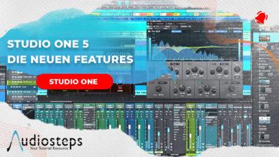Studio One 5 – neue features