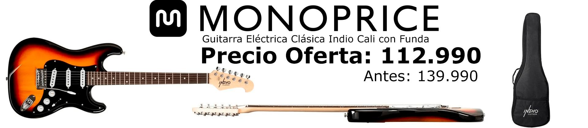 banner guitarra indio