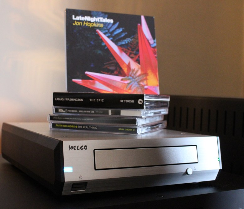 Melco D100 CD Disc Drive @ Audio Therapy