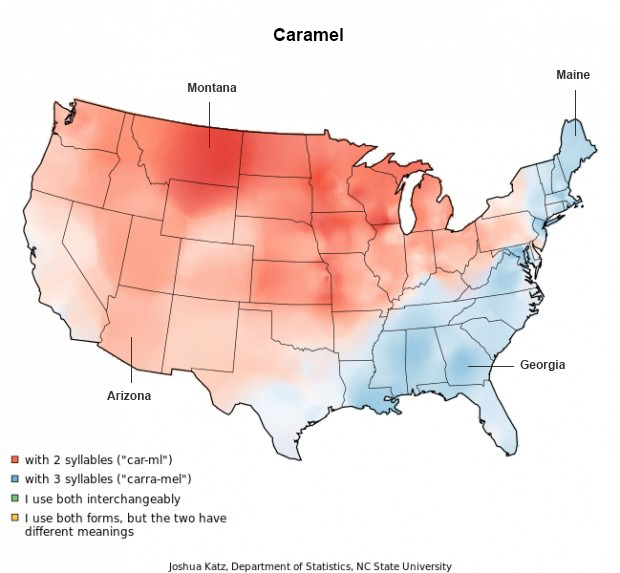 Caramel - Words Pronounced Differently - Audio Transcription Center Blog