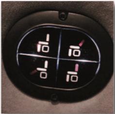 Commande fonction rétro-éclairée zoom