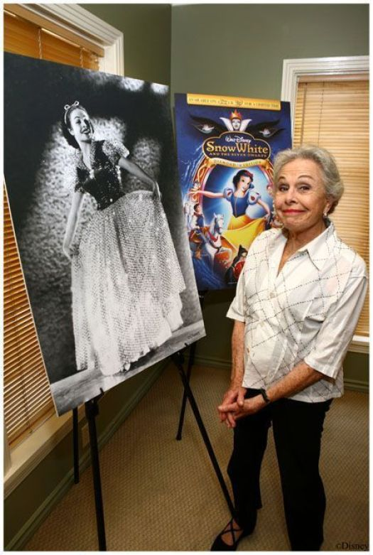 Marjorie Bell (Marge Champion). Fué la modelo para Blancanieves