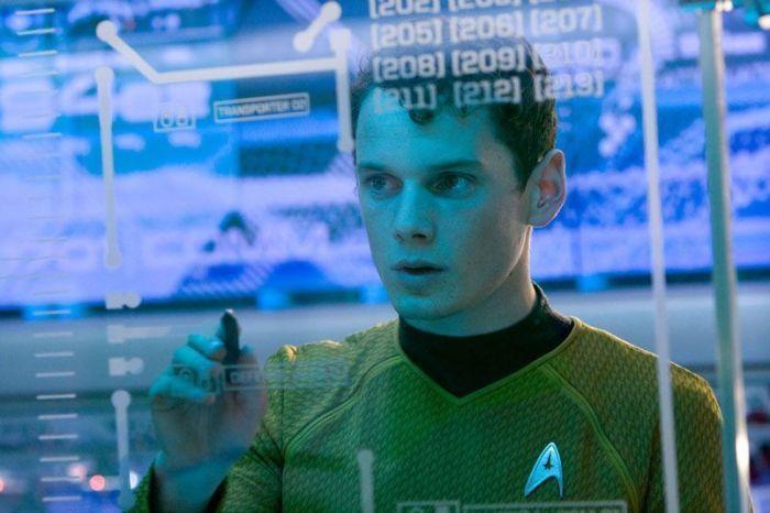Chekov (Anton Yelchin)