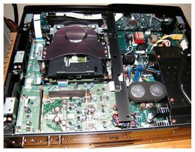Interior del Pioneer PD-D9MK2