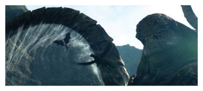 El coloso Kraken - Furia de Titanes (2010)