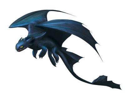 Dragón Furia Nocturna - CÓMO ENTRENAR A TU DRAGÓN