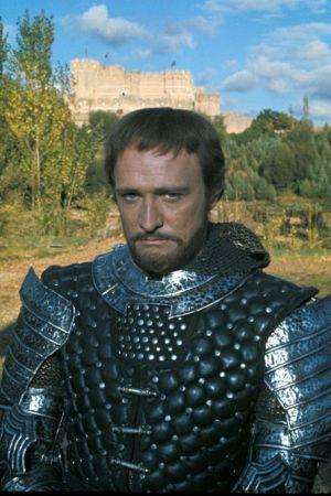 Richard Harris en el musical Camelot (1967)