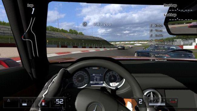 Conducción realista de GT5