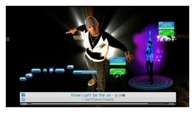 Chris Brown en SingStar + Dance