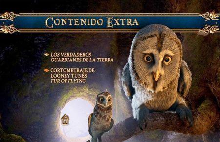 """""""Ga´Hoole: La Leyenda de los Guardianes"""" Extras del DVD"""