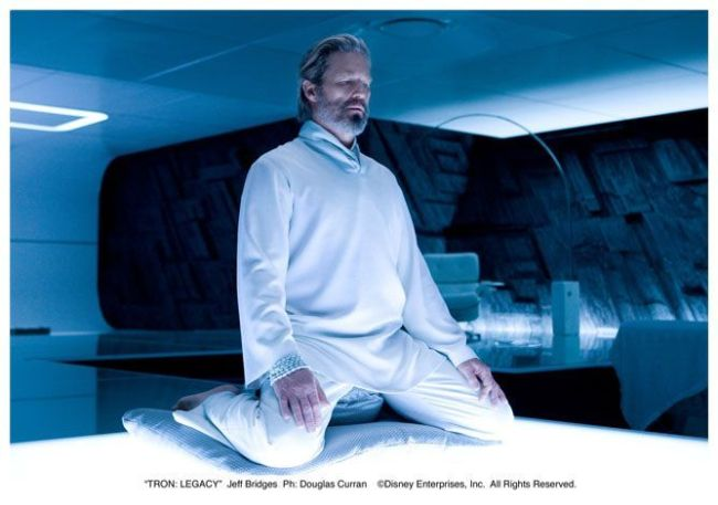 "Jeff Bridges en ""TRON Legacy"""