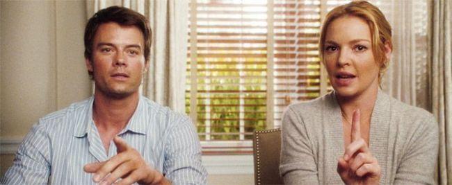 "Josh Duhamel y Katherine Heigl en el film ""Como la vida misma"" (2010)"