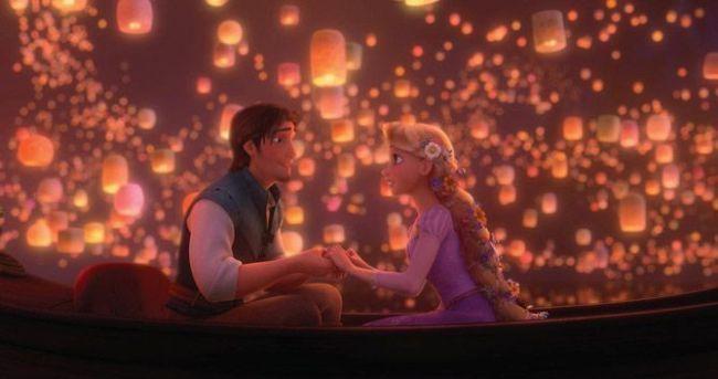 Flynn Rider y Rapunzel (Enredados, 2010)