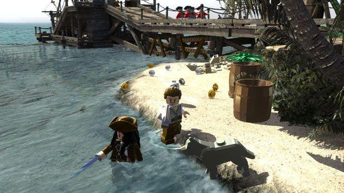 LEGO PIRATAS DEL CARIBE - El videojuego para PS3