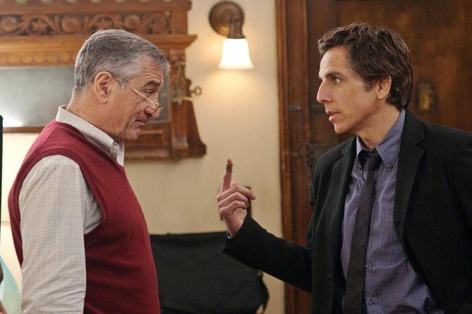 """Robert de Niro y Ben Stiller en """"Ahora los padres son ellos"""""""
