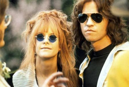 "Meg Ryan y Val Kilmer en ""The Doors"" (1991)"