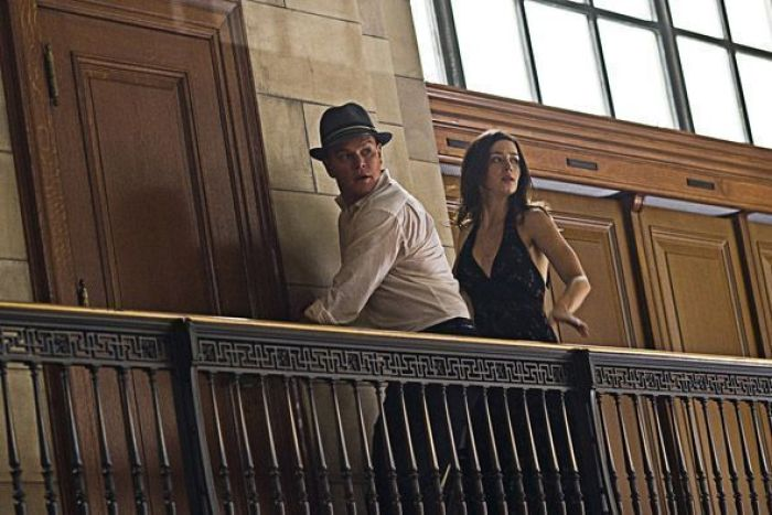 "Matt Damon y Emily Blunt en ""Destino Oculto"" (2011)"