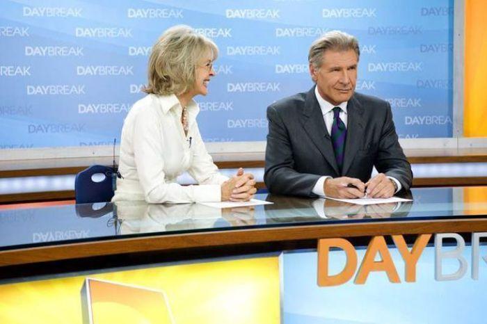 """Diane Keaton y Harrison Ford en """"MORNING GLORY"""" (2011)"""