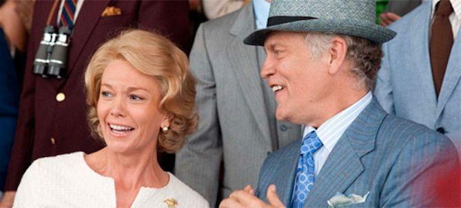 Diane Lane y John Malkovich en el film