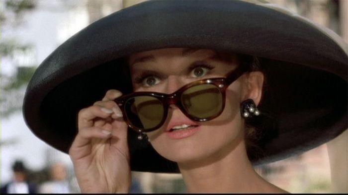 """Audrey Hepburn en el film """"Desayuno con Diamantes"""" (1961)"""