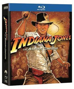 "PACK Blu-Ray ""INDIANA JONES, Las Aventuras Completas"""