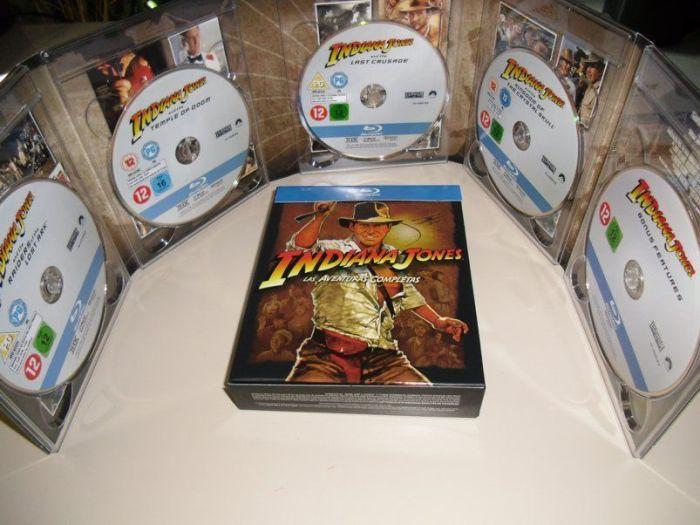 """Abrimos el PACK Blu-Ray """"INDIANA JONES, Las Aventuras Completas"""""""