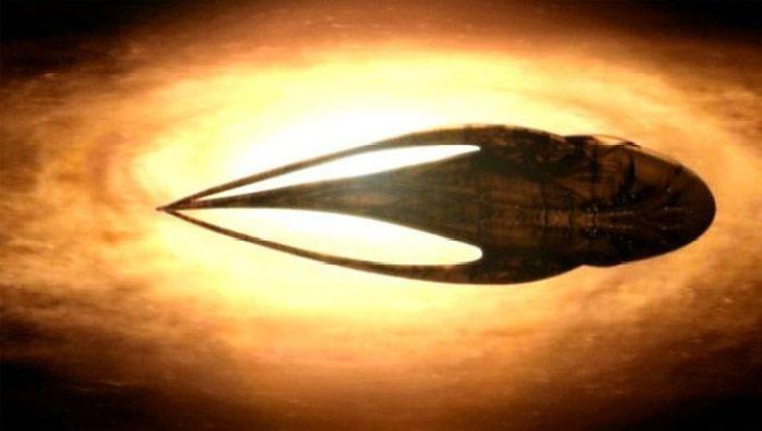 Moya es la nave de la serie Farscape