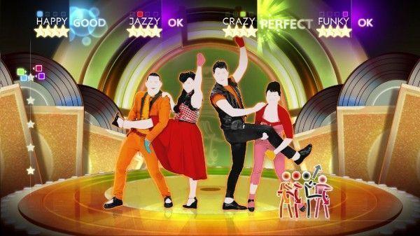 """videojuego """"Just Dance 4"""" (octubre de 2012)"""