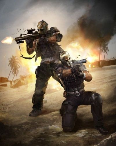 ARMY OF TWO: The Devil's Cartel (2013)