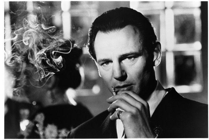 """Liam Neeson en """"LA LISTA DE SCHINDLER"""" (1993)"""