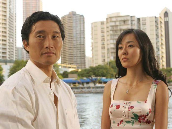 Daniel Dae Kim y Joo-Jin Kim en la serie Perdidos