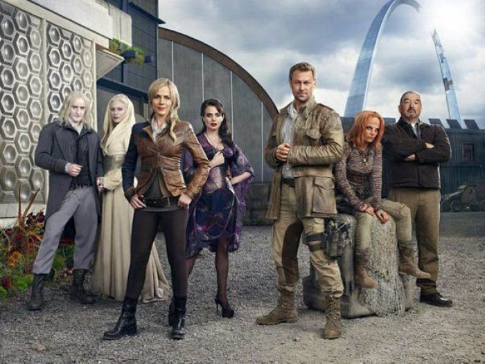 Protagonistas de la serie DEFIANCE (2013)